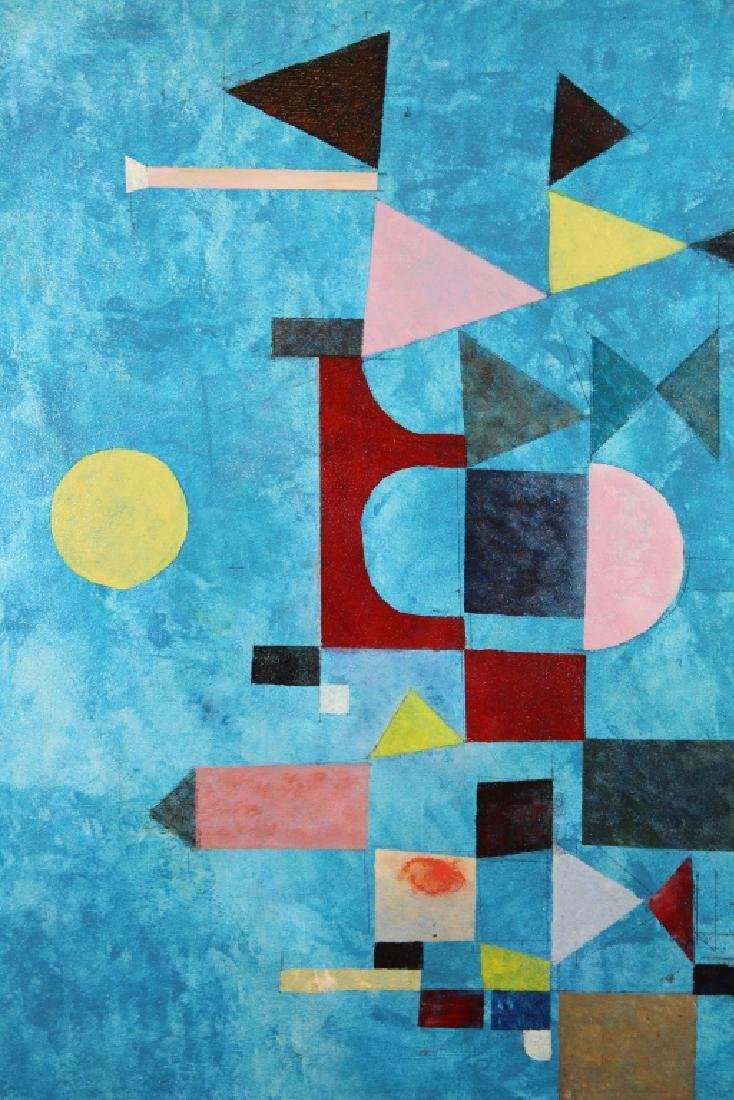 Vintage Abstract Geometric Composition - 2