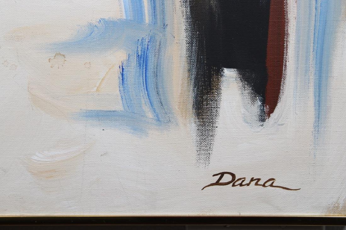 Dana Burford, Large Vintage Abstract Painting - 3