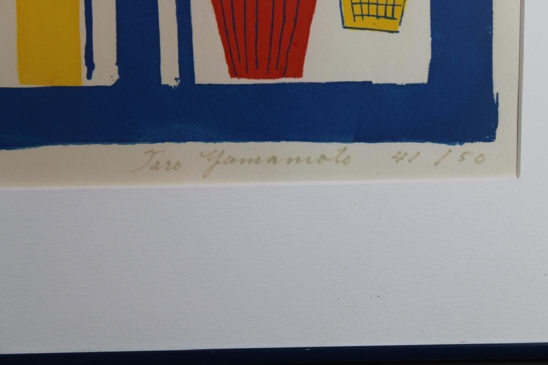 Taro Yamamoto (1919-1994) Lithograph, Palm Beach - 4