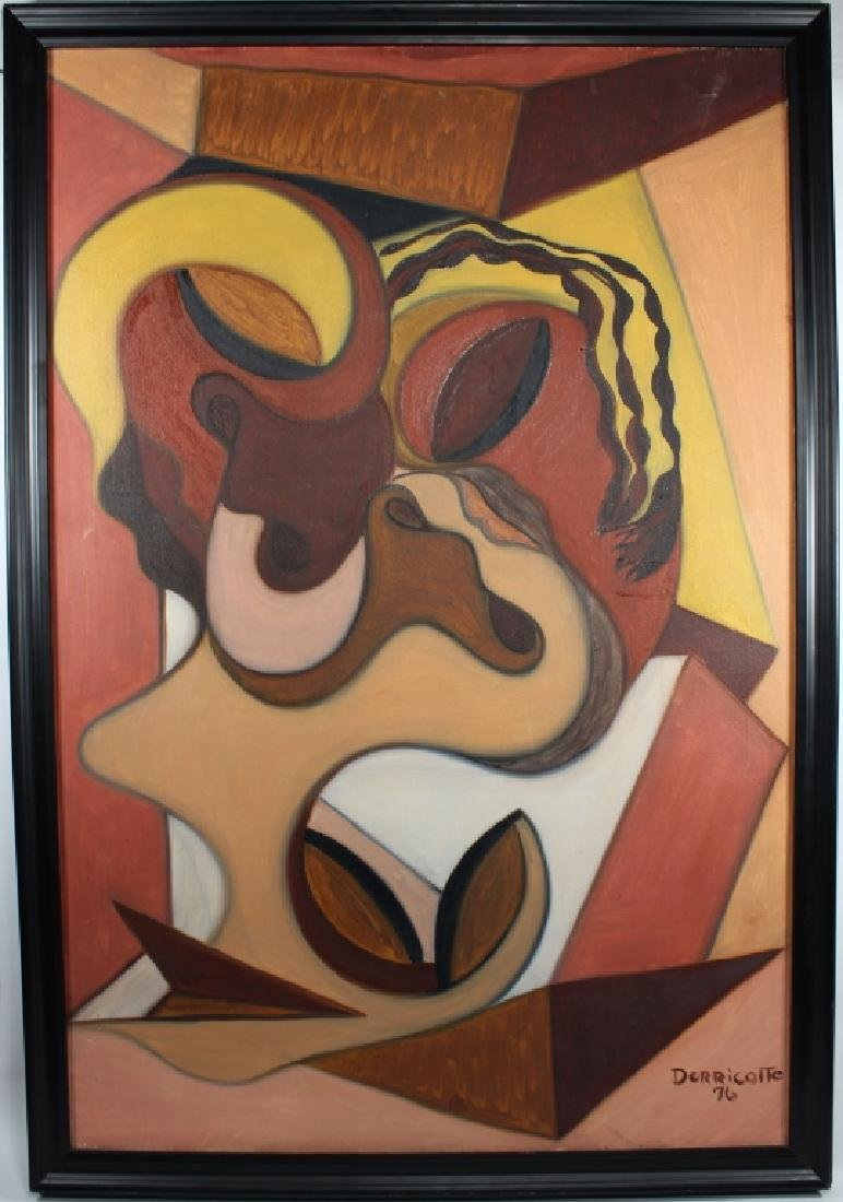 Derricotte, '76 Abstract Painting