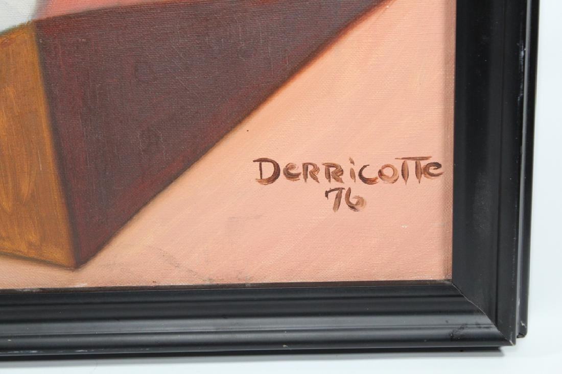 Derricotte, '76 Abstract Painting - 3