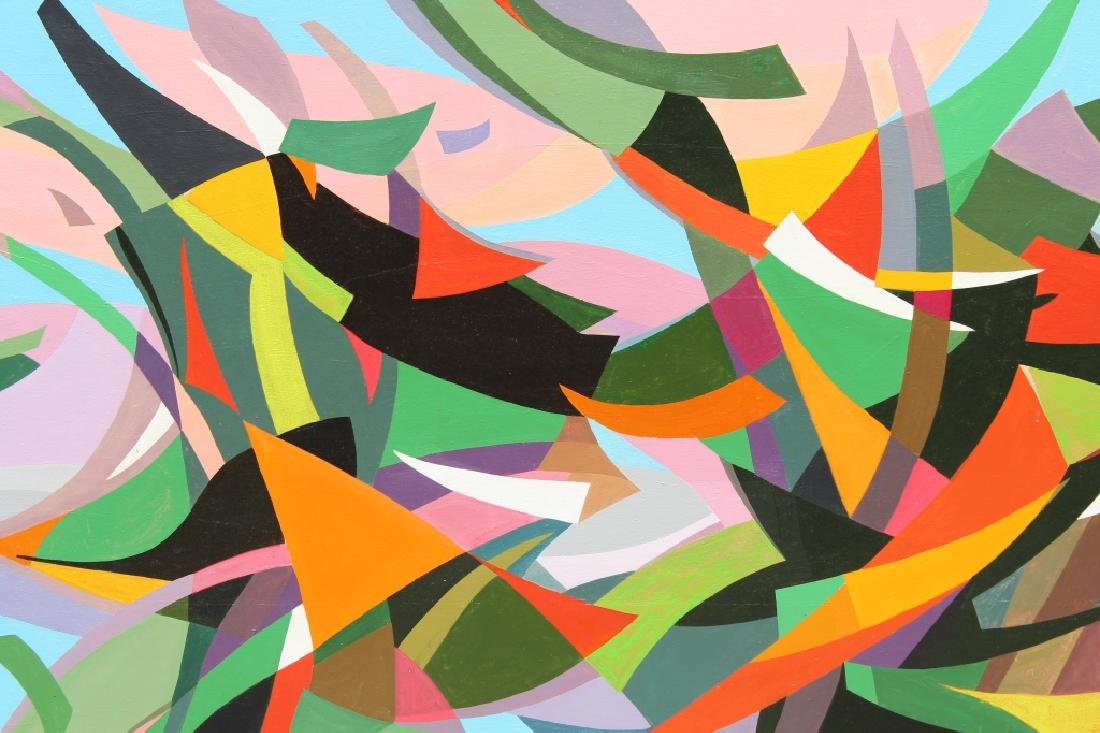 """Large Abstract, """"Fanfare"""" Andree Simon  (1896 - 1981) - 2"""
