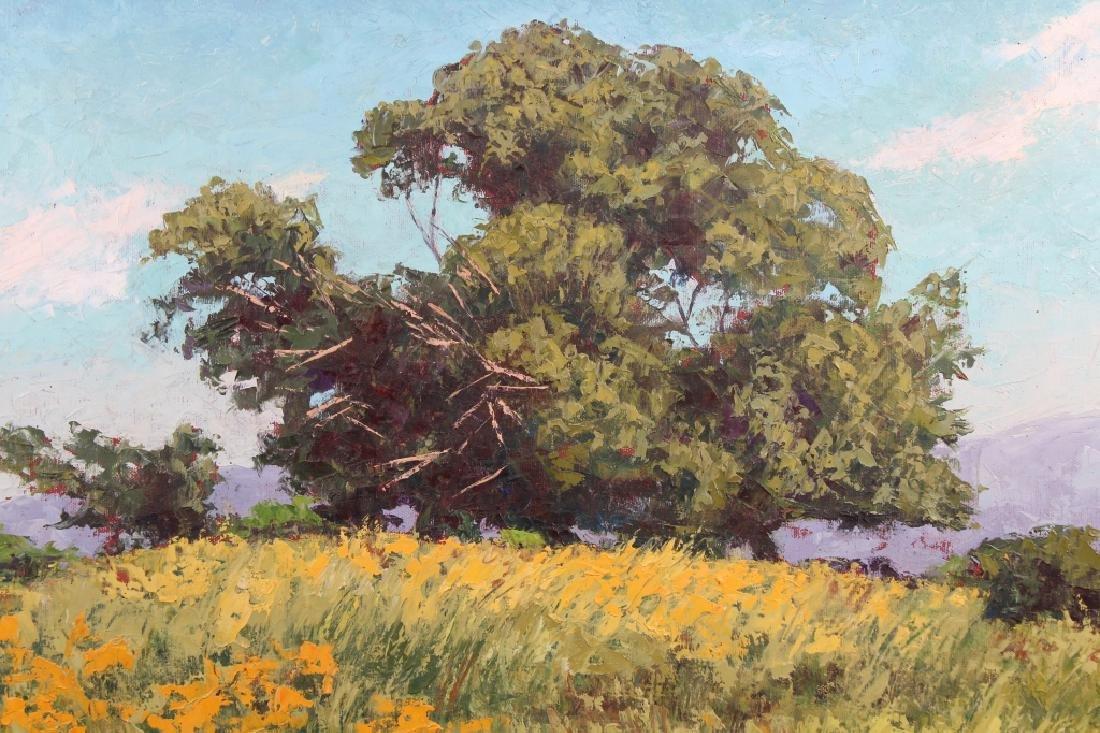 Joan Naylor, Vintage California Landscape Painting - 2