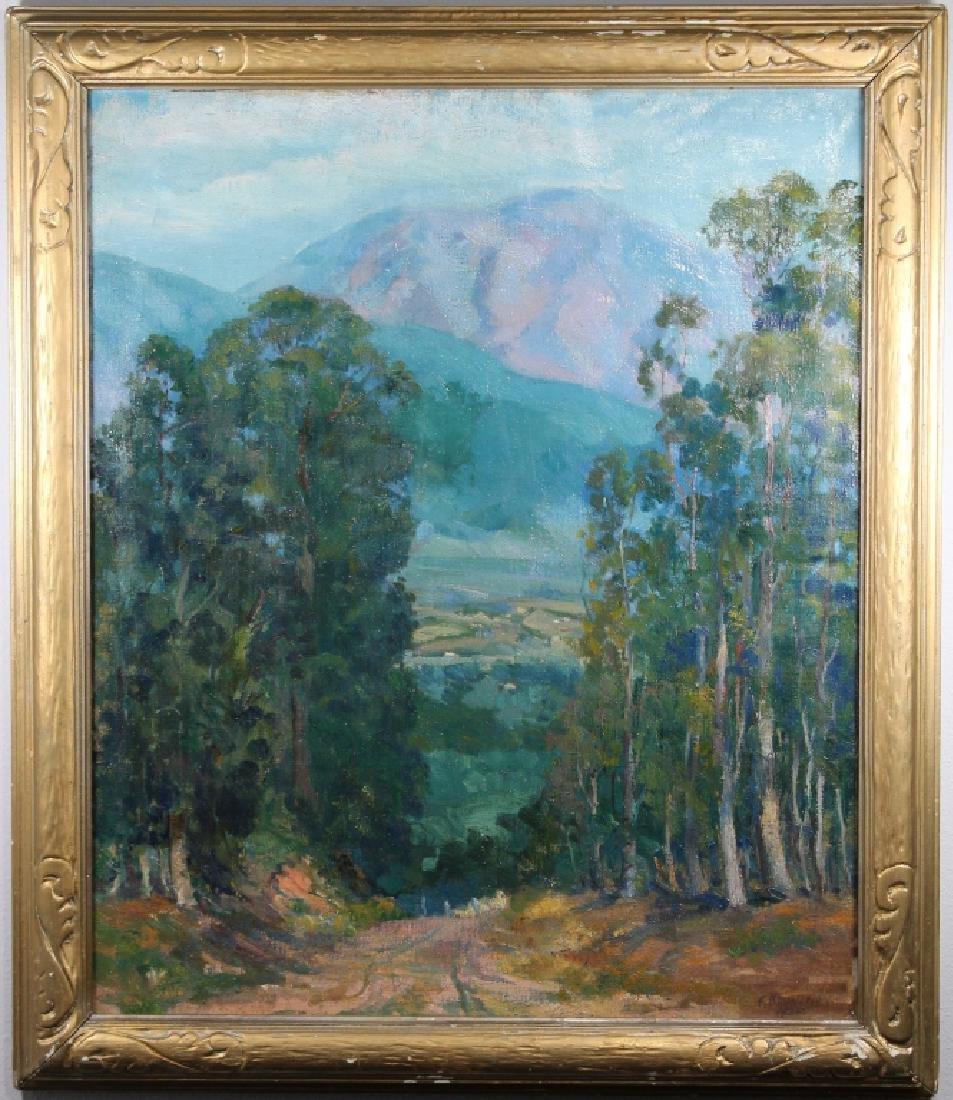 Fredrick Brunish (1902-1952) San Gabriel Mts. CA