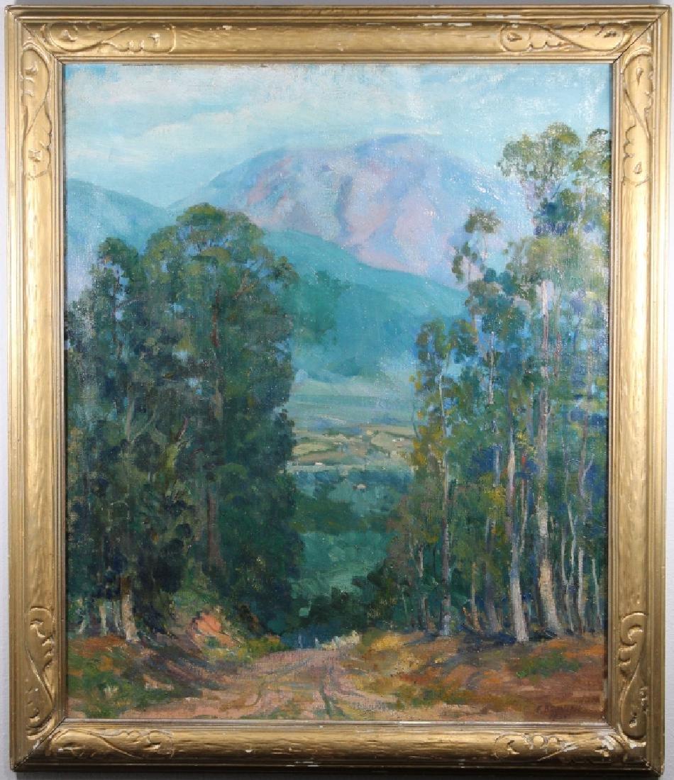 Fredrick Brunish (1902-1952) San Gabriel Mts. CA - 2
