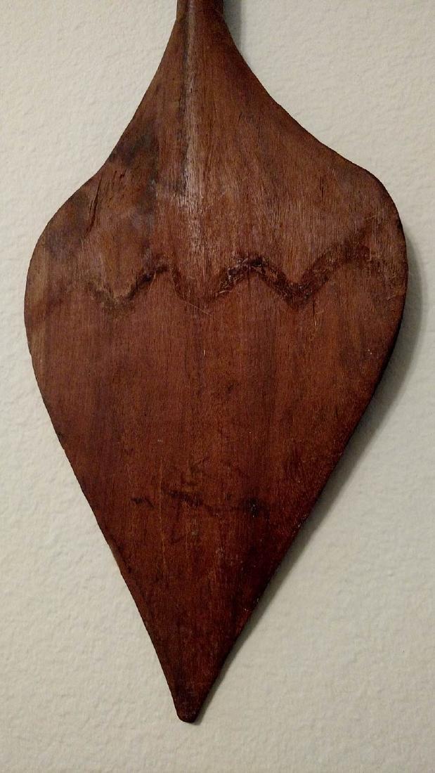 Mid 20th C. Yanomami Indian Canoe Paddle - 3