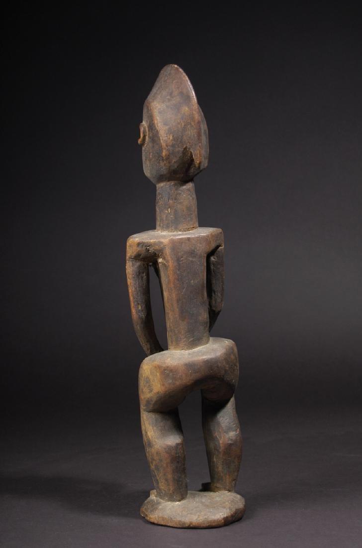 EARLY 20TH C. DOGON, WAKARA STYLE STANDING FEMALE - 4