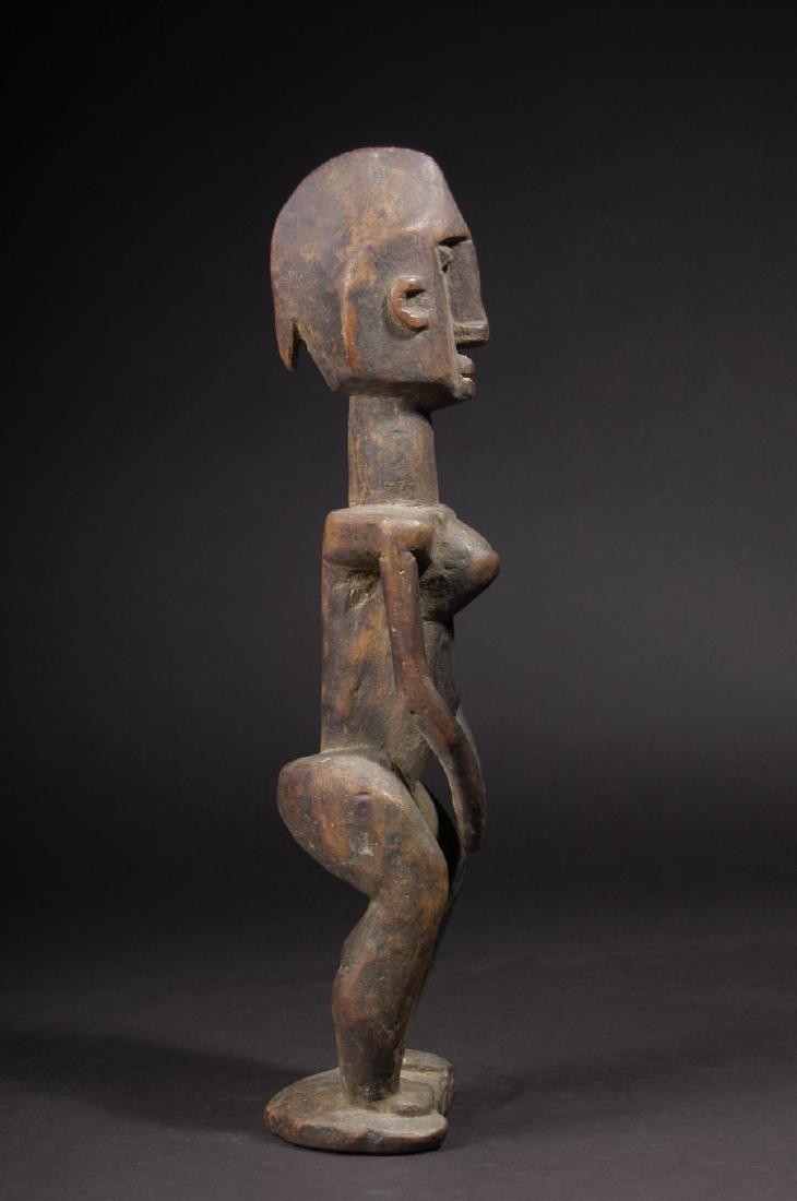 EARLY 20TH C. DOGON, WAKARA STYLE STANDING FEMALE - 5