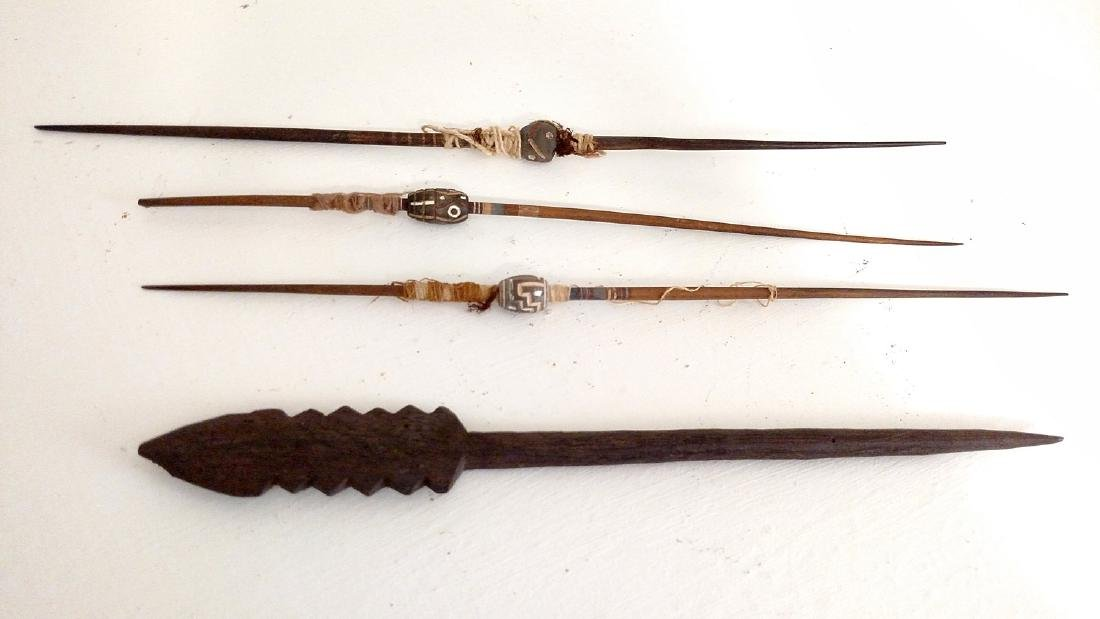 Group of Utility Weaving Tools, Chancay Culture