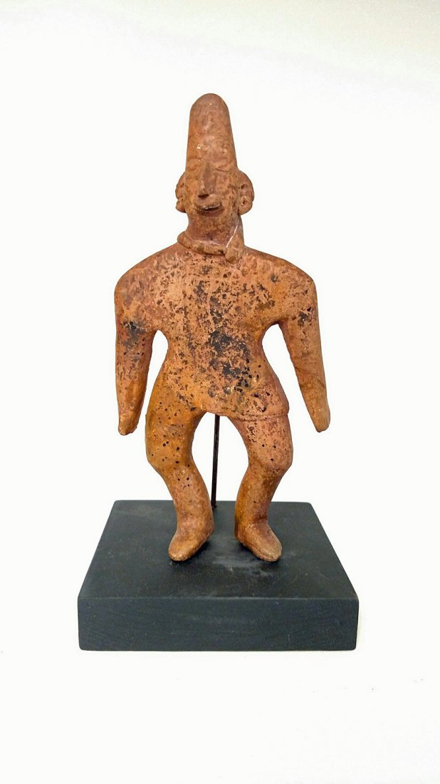 """Colima Tuxcacuesco Culture, """"Gingerbread"""" Figure"""