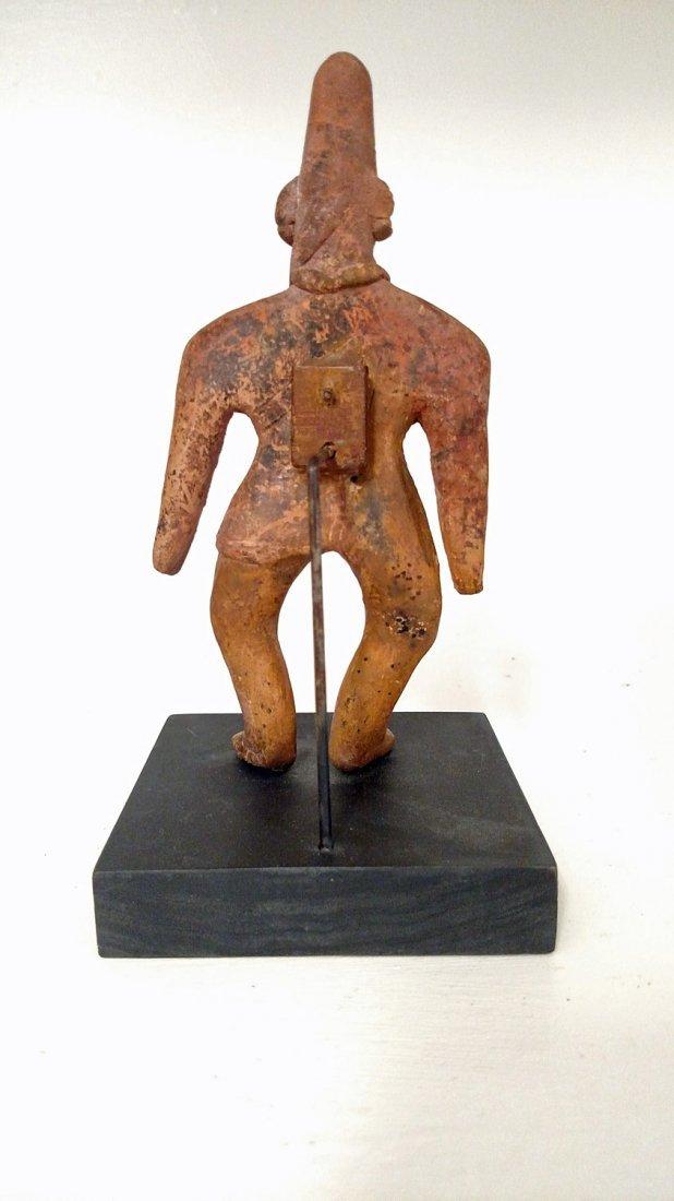 """Colima Tuxcacuesco Culture, """"Gingerbread"""" Figure - 2"""