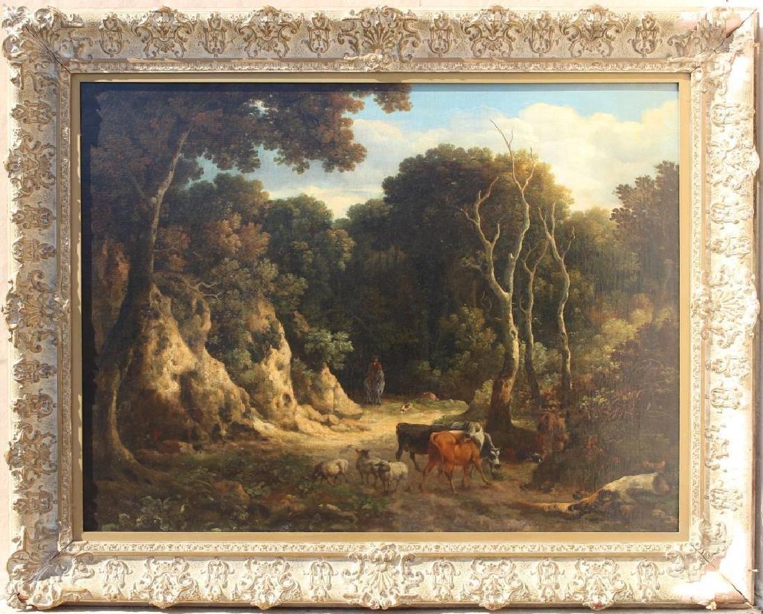 Philip Reinagle (1749 - 1833) Wooded Landscape