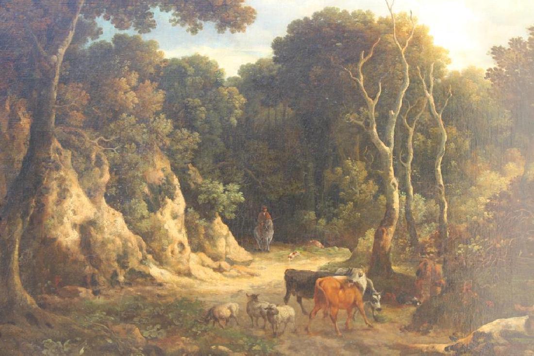 Philip Reinagle (1749 - 1833) Wooded Landscape - 2