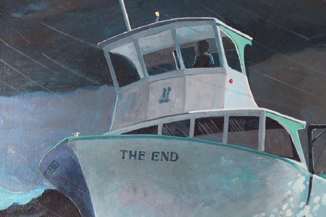 "E Soler, '76 Illustration, ""The End"" - 4"