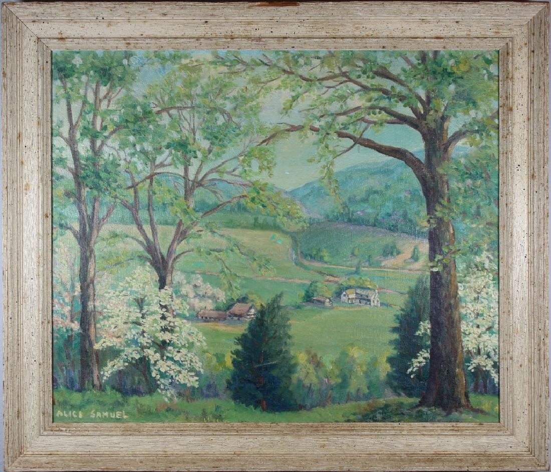 Alice Samuel, New Hope School Landscape