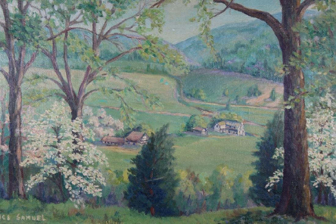 Alice Samuel, New Hope School Landscape - 2