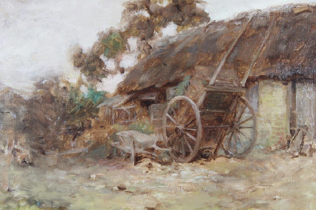 "Robert MacGregor (1848 - 1922) ""The Farmyard"" - 2"