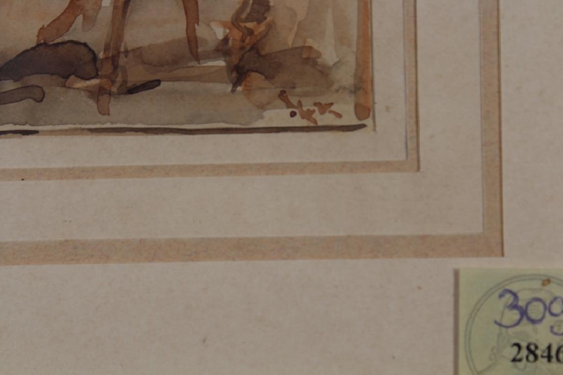 19th C. W/c of Figures on Horseback, Ex Christie's - 3