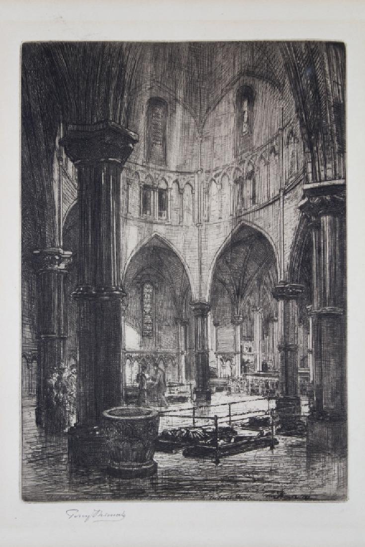"Percy Thomas (1846 - 1922) ""The Round Church"" - 2"