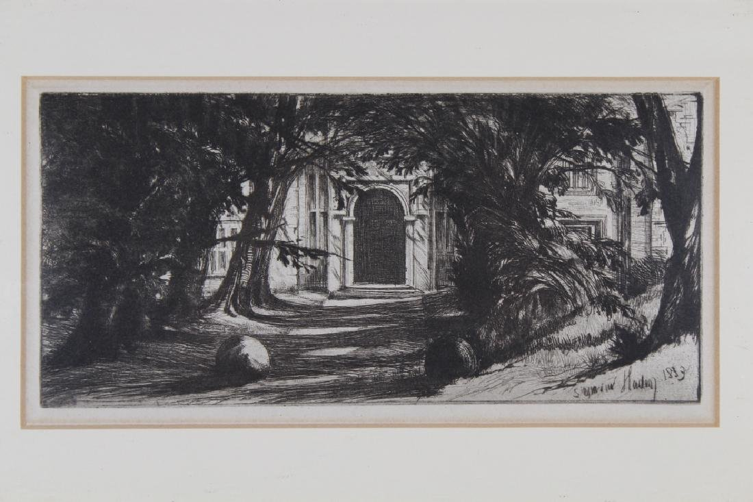 Francis Seymour (Sir) Haden (1818 - 1910) - 2