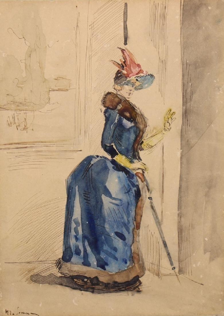 Henri Somm (1810 - 1889), Christie's - 2