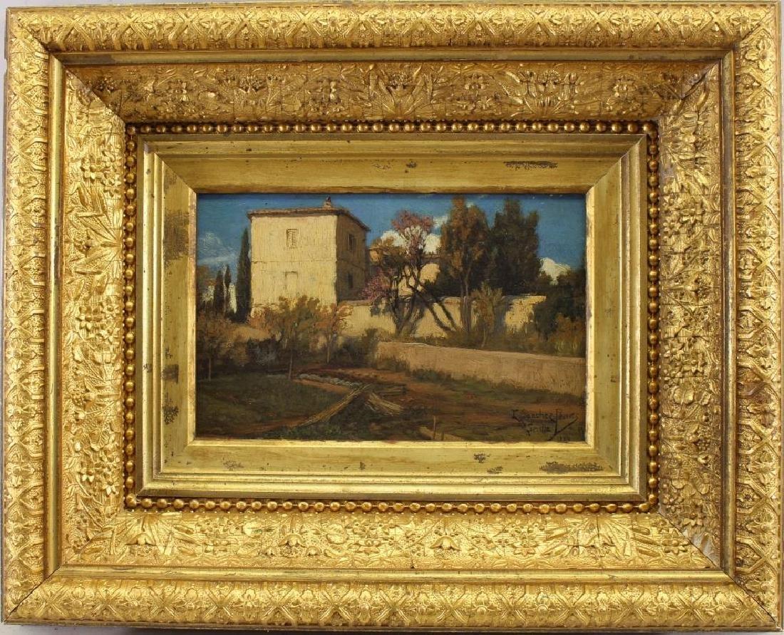 Emilio Sanchez Perrier (1855 - 1907) Sevilla