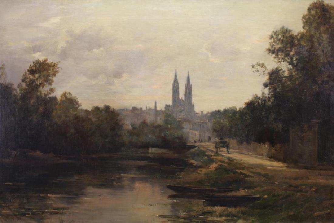 """Maurice Levis (1860 - 1940) """"Ville de Niort"""""""