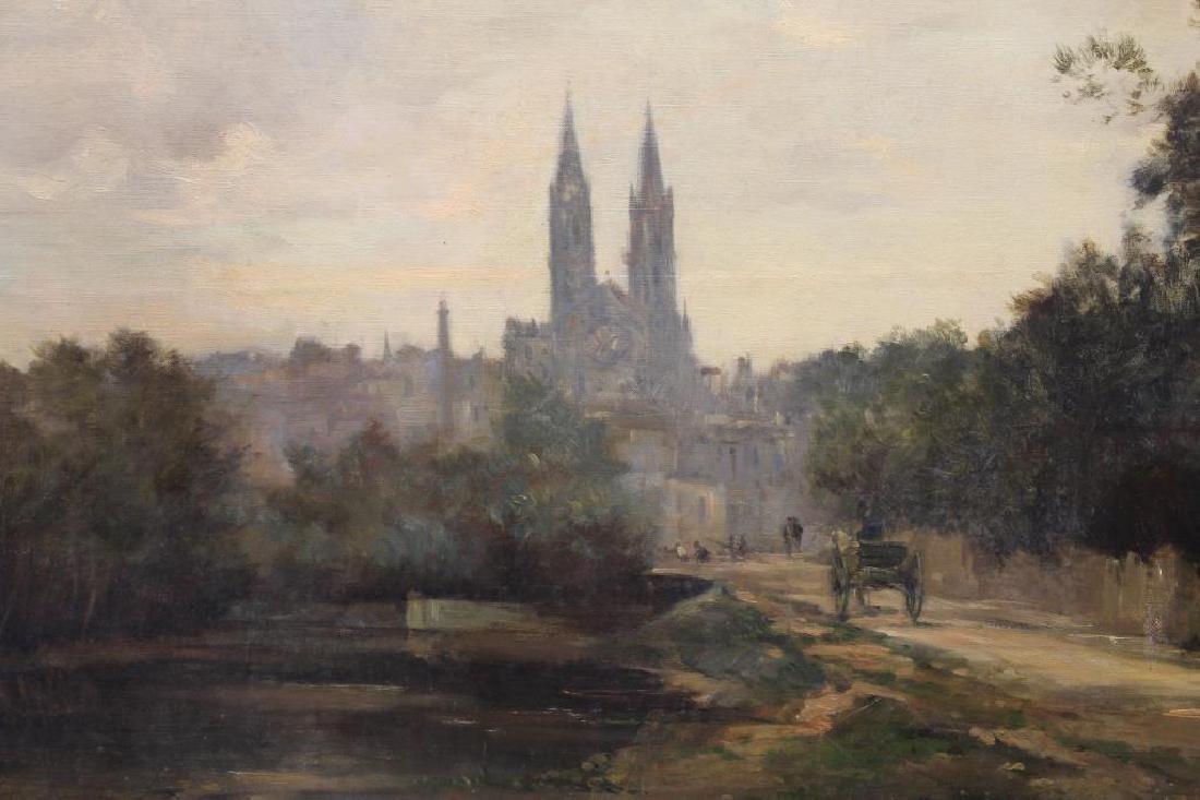 """Maurice Levis (1860 - 1940) """"Ville de Niort"""" - 2"""