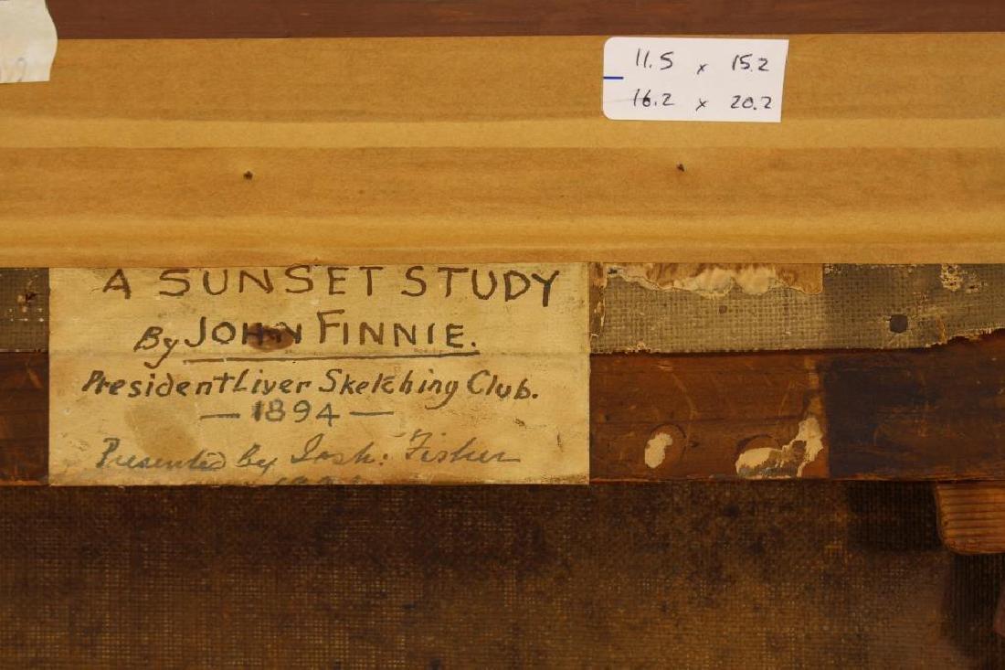 """John Finnie """"A Sunset Study"""" - 4"""