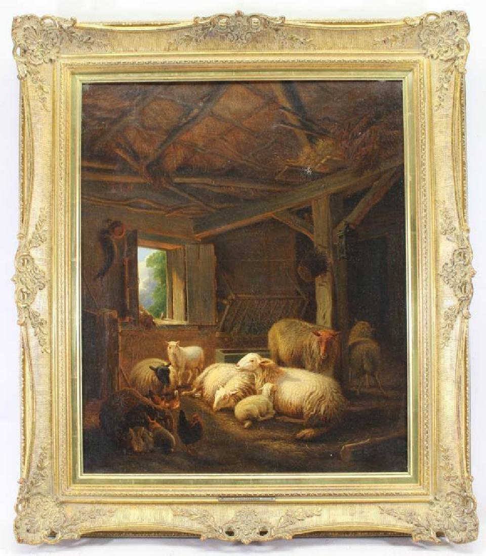 Jacob Van Dieghem (Netherlands, 19th C) Christie's