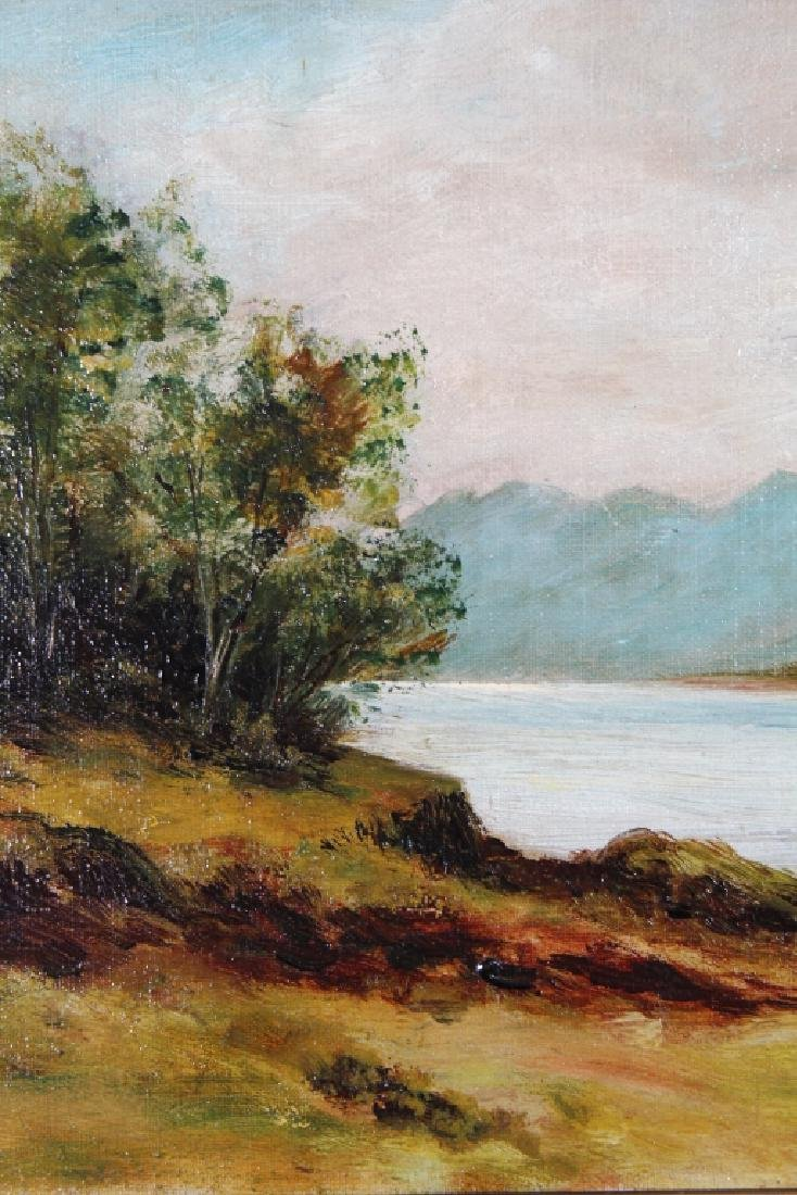 Hudson River School, 19th C. Painting of Mountain - 2