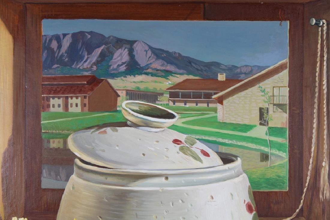 American School, Trompe-l'oeil Painting - 2