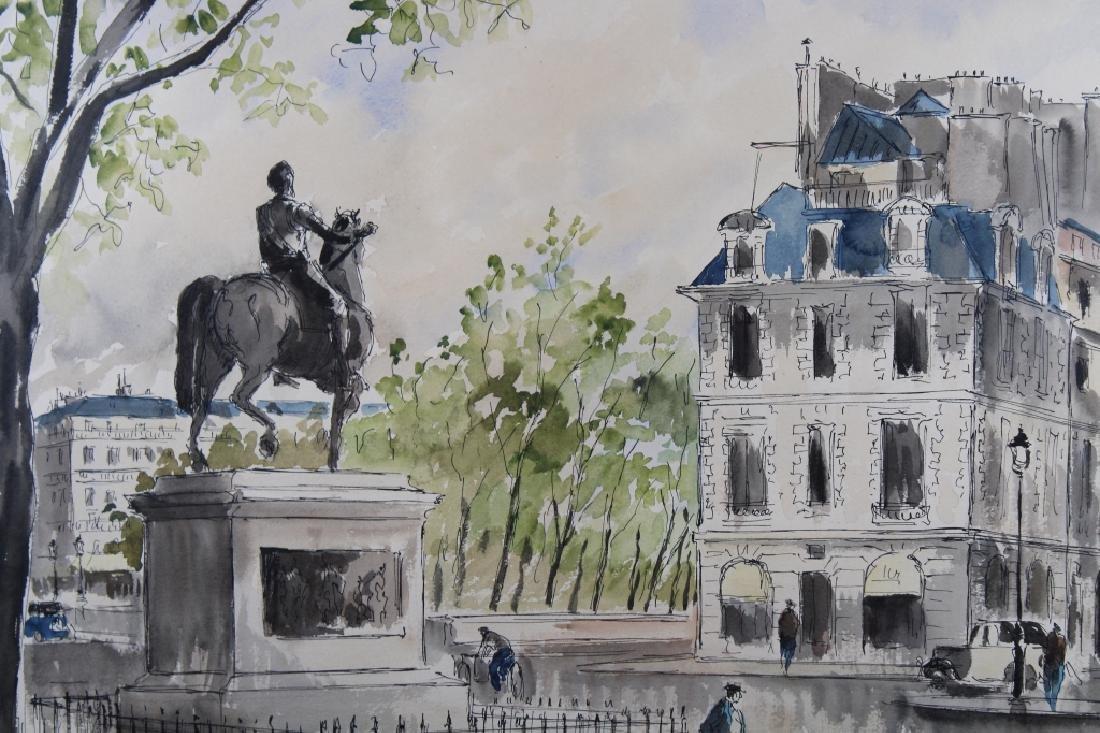 Guy Neyrac (1900 - 1950) Pont Neuf Paris - 2