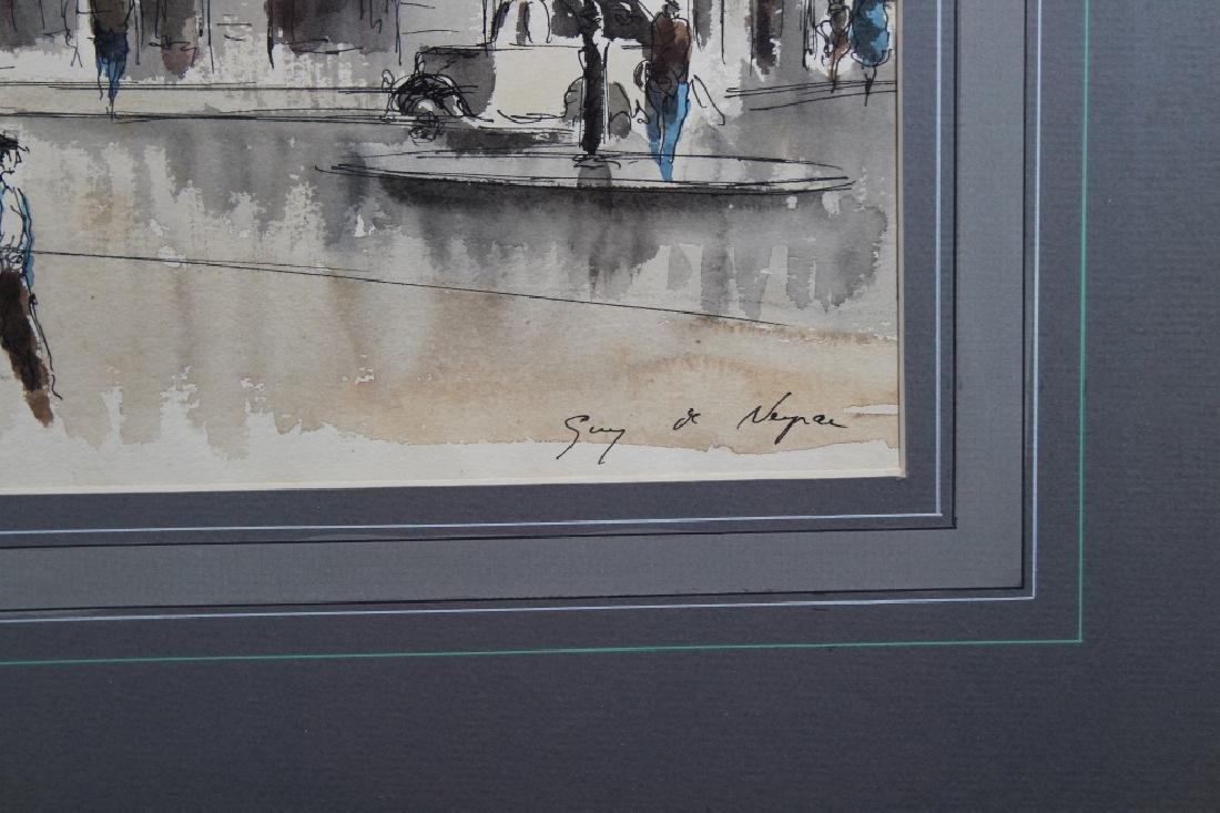 Guy Neyrac (1900 - 1950) Pont Neuf Paris - 4