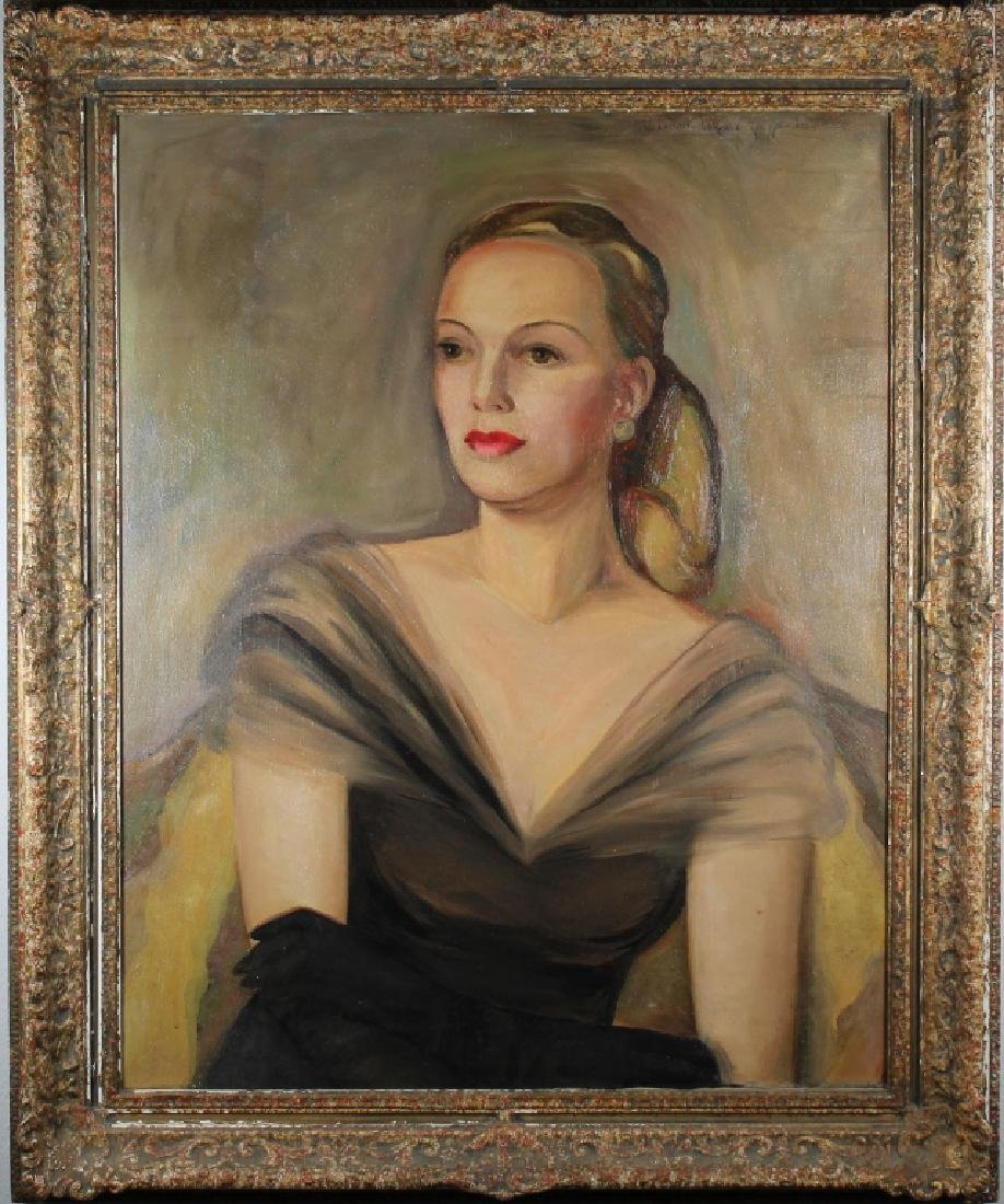 Rebecca Guggenheim, Portrait of an Elegant Woman