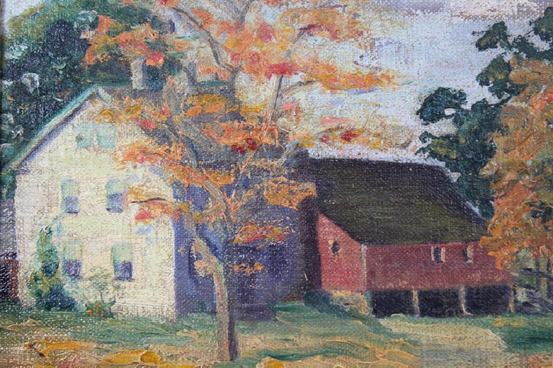 American School, Impressionist Autumnal Landscape - 2