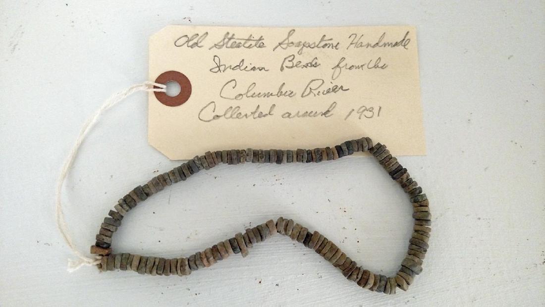 NW COAST Steatite Beads - 2
