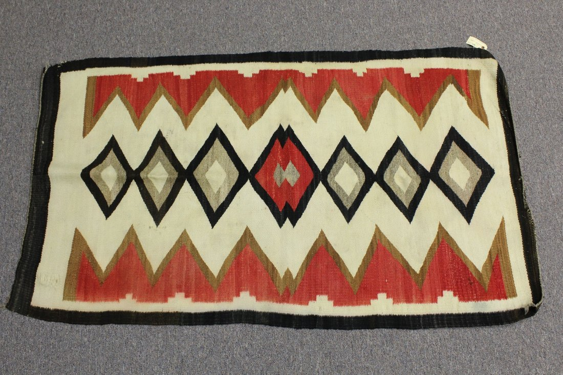 Early 20th C Navajo Rug, circa 1920's - 2