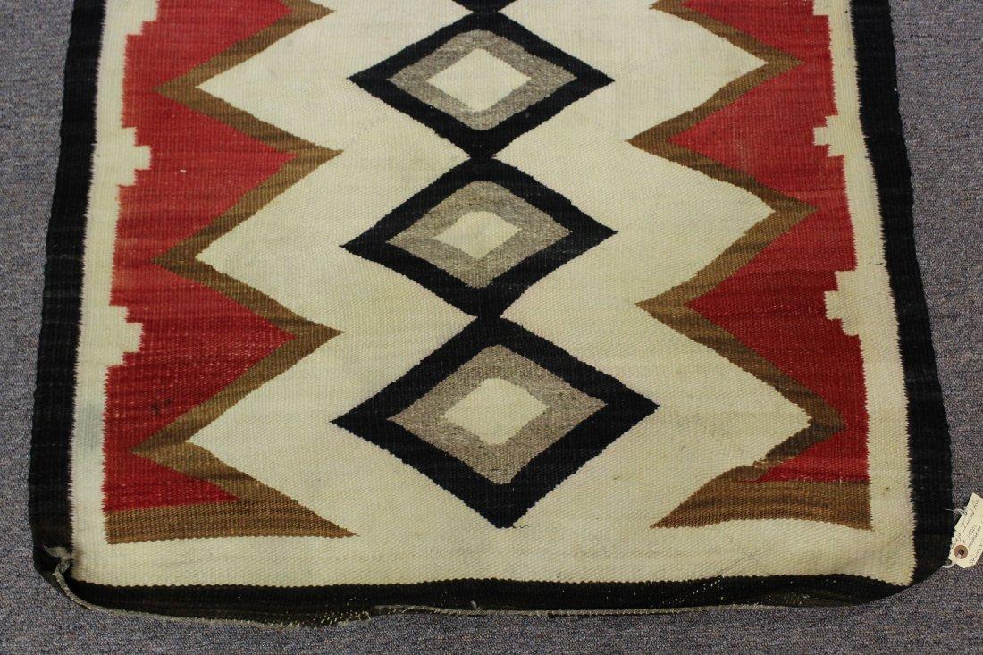Early 20th C Navajo Rug, circa 1920's - 3