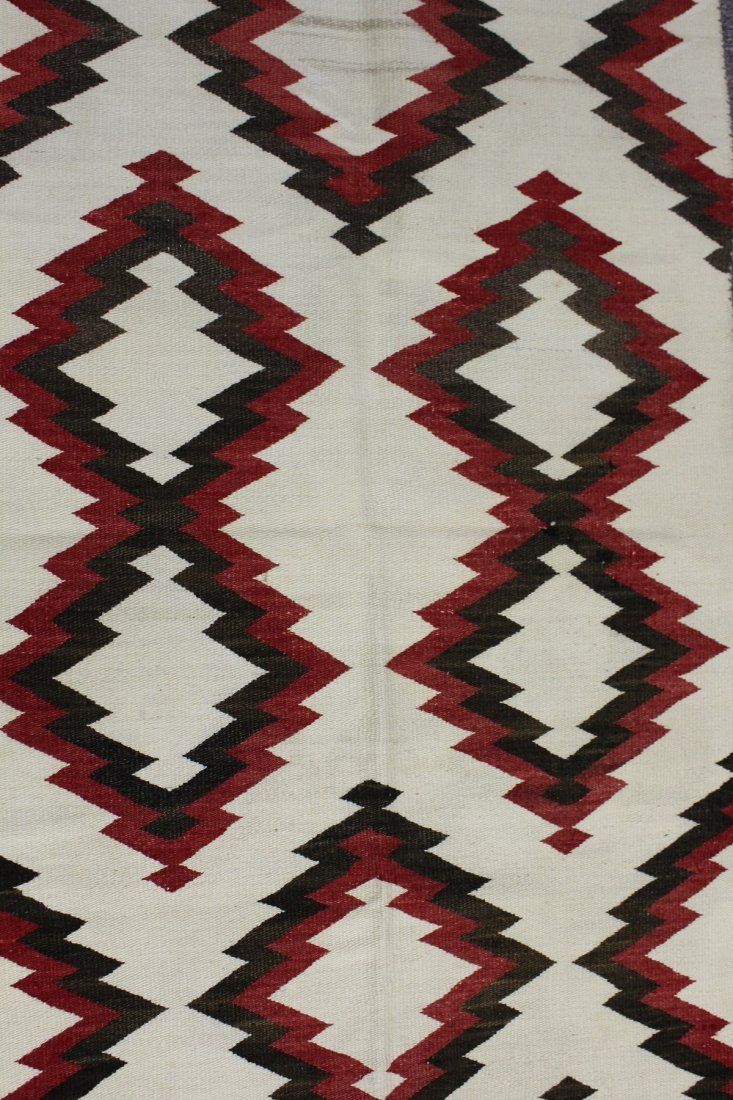 Early 20th C Navajo Rug, circa 1920's - 4