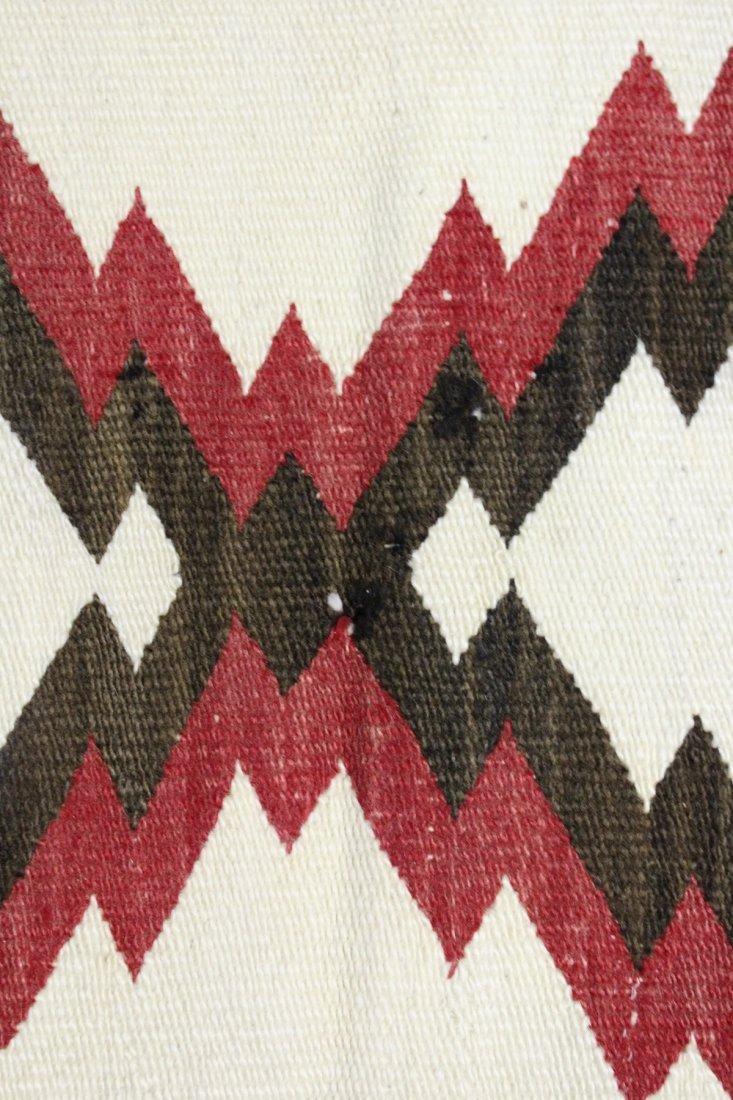Early 20th C Navajo Rug, circa 1920's - 5