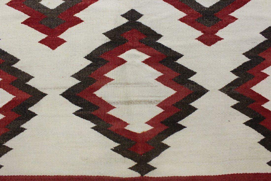 Early 20th C Navajo Rug, circa 1920's - 6