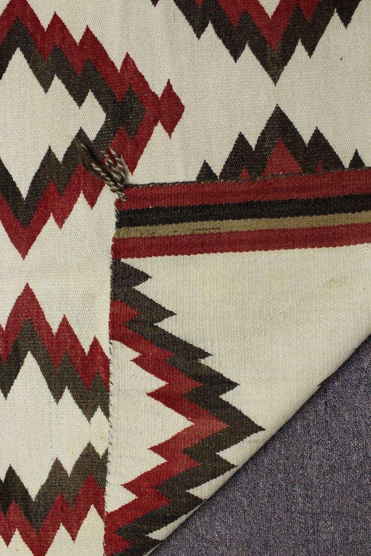 Early 20th C Navajo Rug, circa 1920's - 7