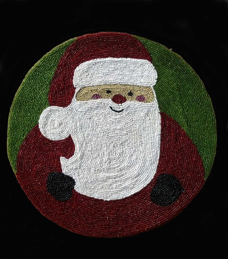 Yakima Tribe Portrait of Santa Claus