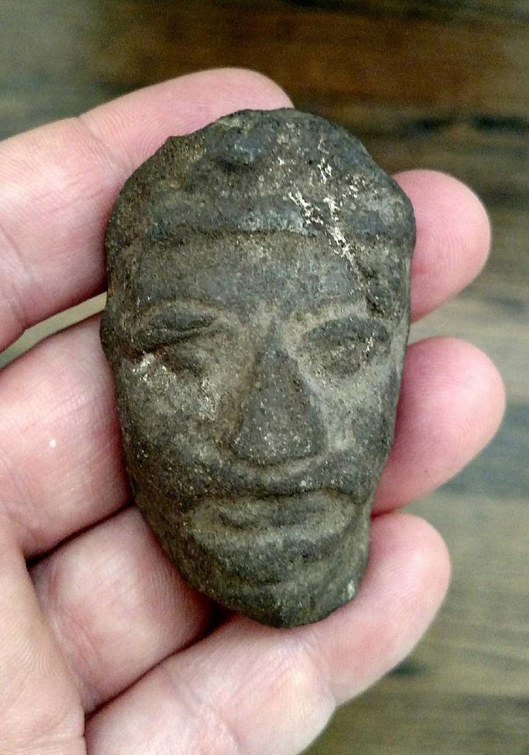 Zapotec(?) Head Fragment - 2
