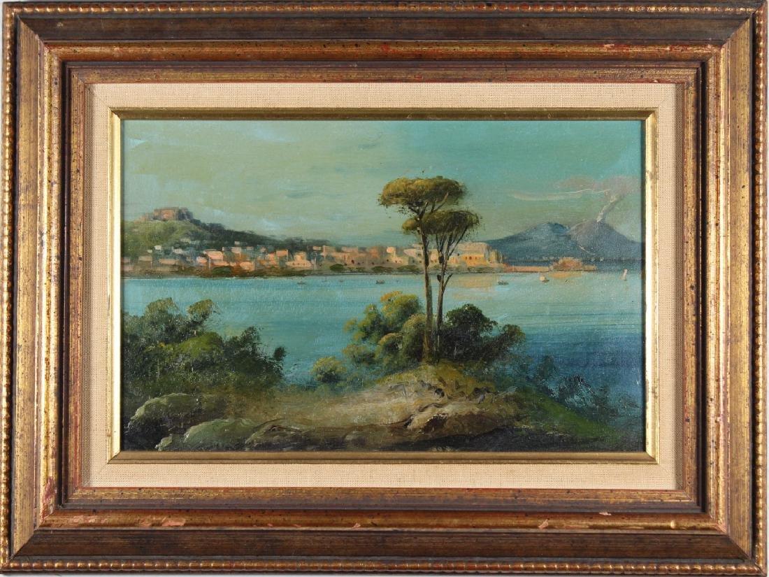 19th C. Italian School Painting of Naples