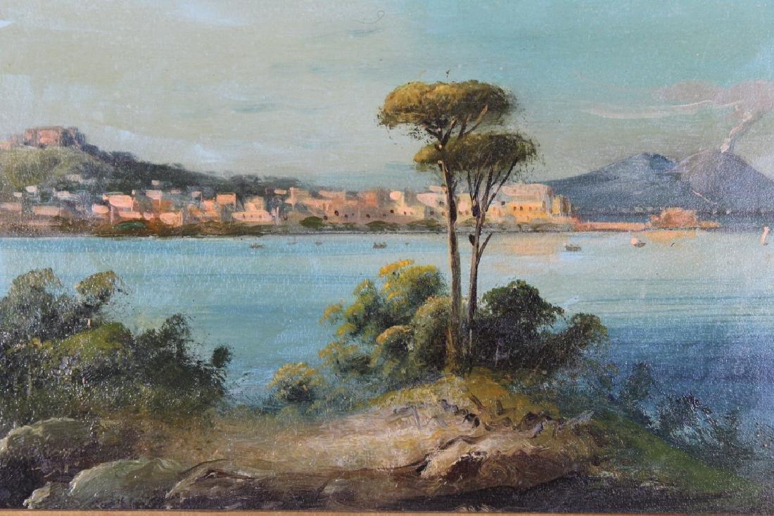 19th C. Italian School Painting of Naples - 2