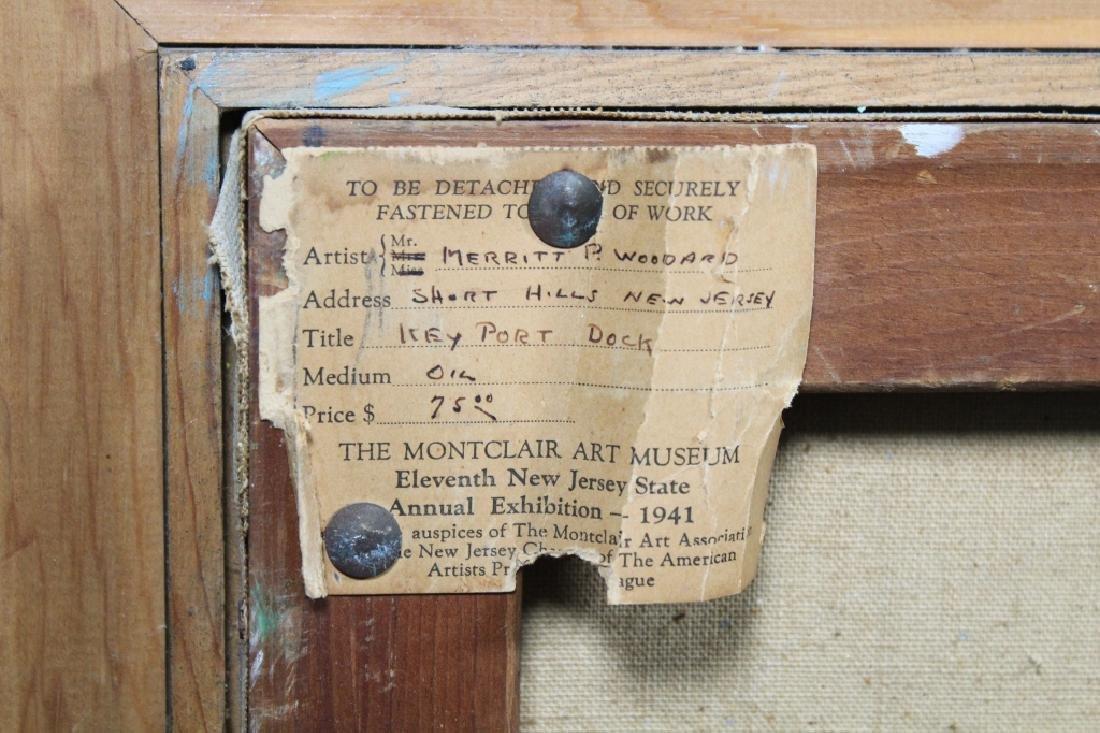 "Merritt P. Woodard, ""Key Port Dock"". Museum Label - 5"