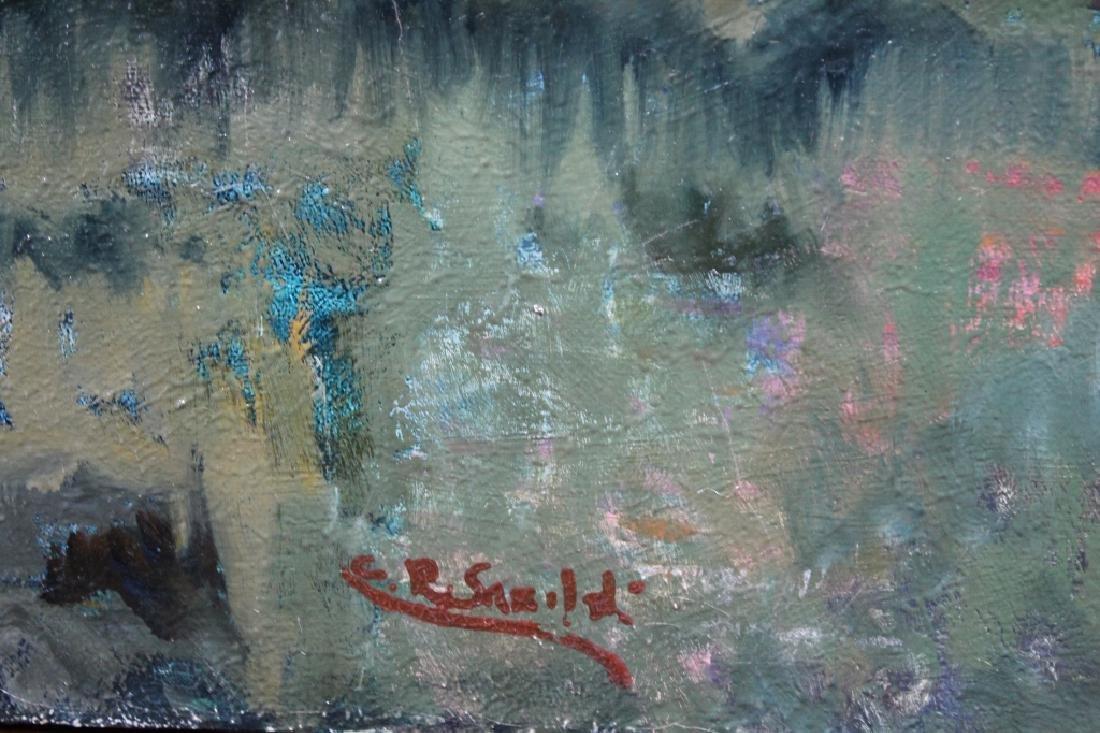 Signed, Impressionist Autumnal River Landscape - 3