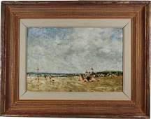 Charles Horwood (1907 - 1975) Beach Scene